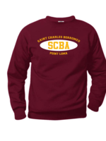 TUS SCBA Wine Fleece Crewneck Sweatshirt (SCR)