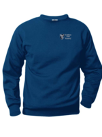 TUS SKDA Navy Fleece Crewneck Sweatshirt TK-4 (EMB)
