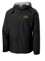 TUS CCA Hooded Black Full Zip Baywatch Jacket