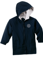 TUS SDPS Navy Hooded Full Zip Baywatch Jacket