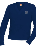 TUS SDPS Navy V-neck Pullover sweater 7-8