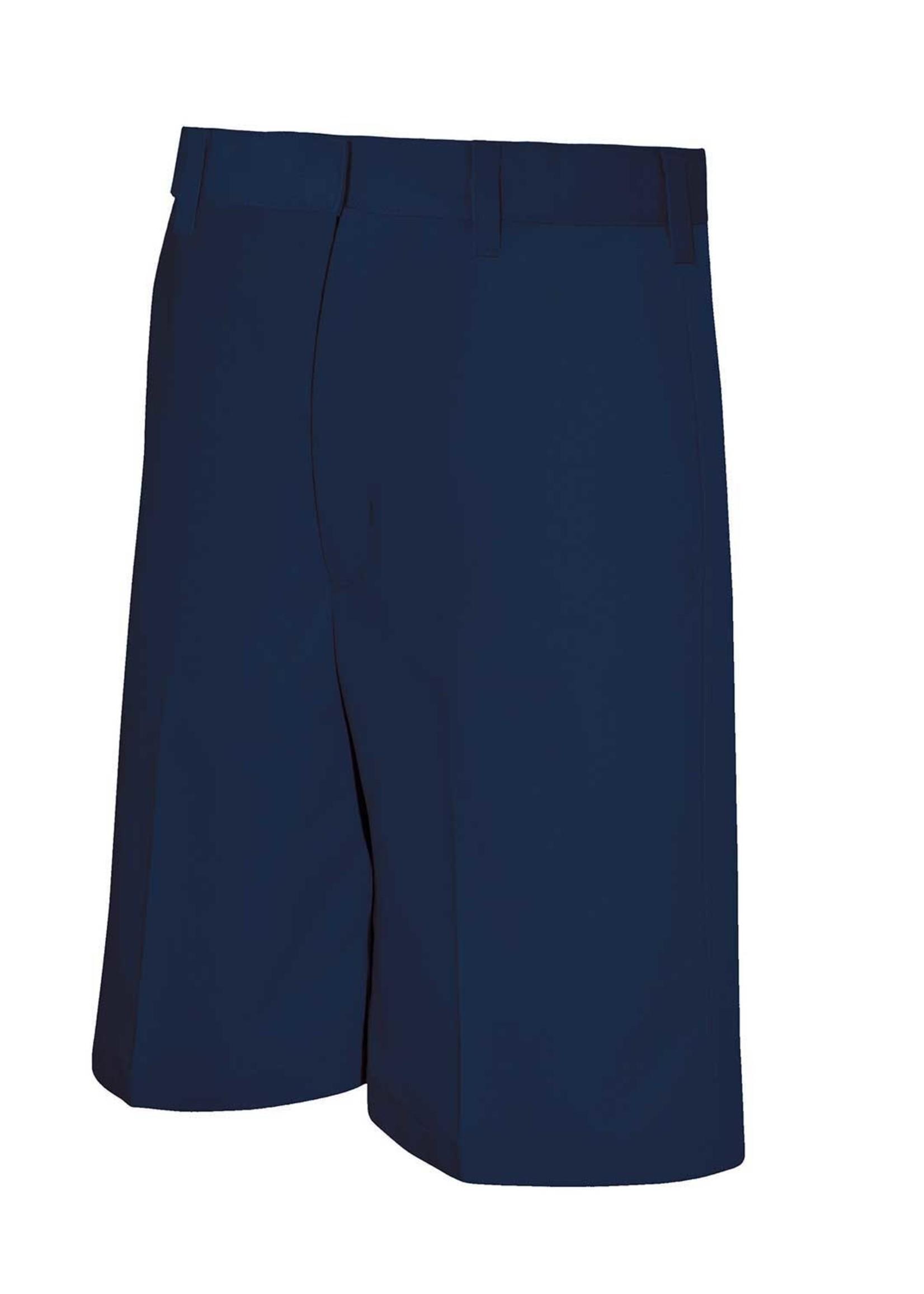 A+ Boys Navy Flat Front Short