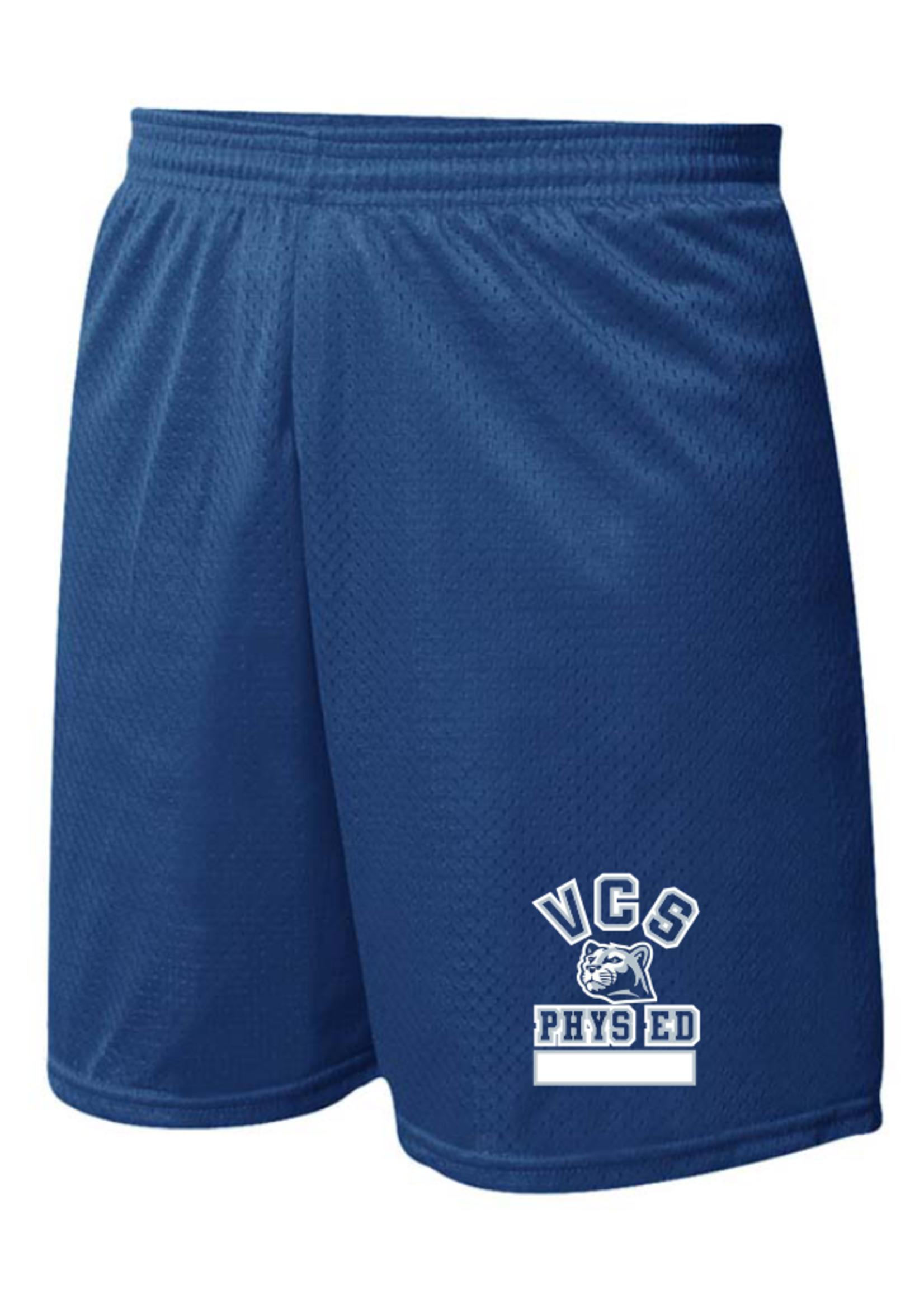 VCS Navy Mini Mesh PE Shorts