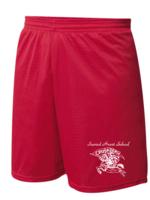 SHS Red Mini Mesh PE Shorts
