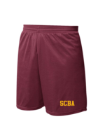Soffe SCBA Wine Mini Mesh PE Shorts