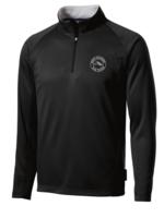 ROCK Black 1/4 Zip Performance Jacket