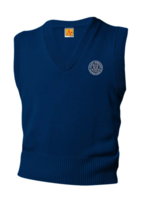 TUS SDPS Navy V-neck sweater vest 7-8