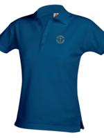 SCCS Ladies Short Sleeve Royal Pique Polo (K-5)