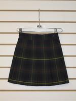 Plaid 10 Pleat Skirt P83