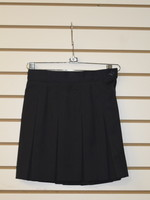 Solid 10 Pleat Skirt