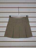 Khaki Bias Band Skirt