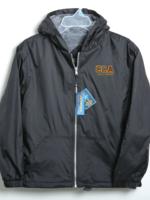 TUS CCA Black Windbreaker Hooded Jacket