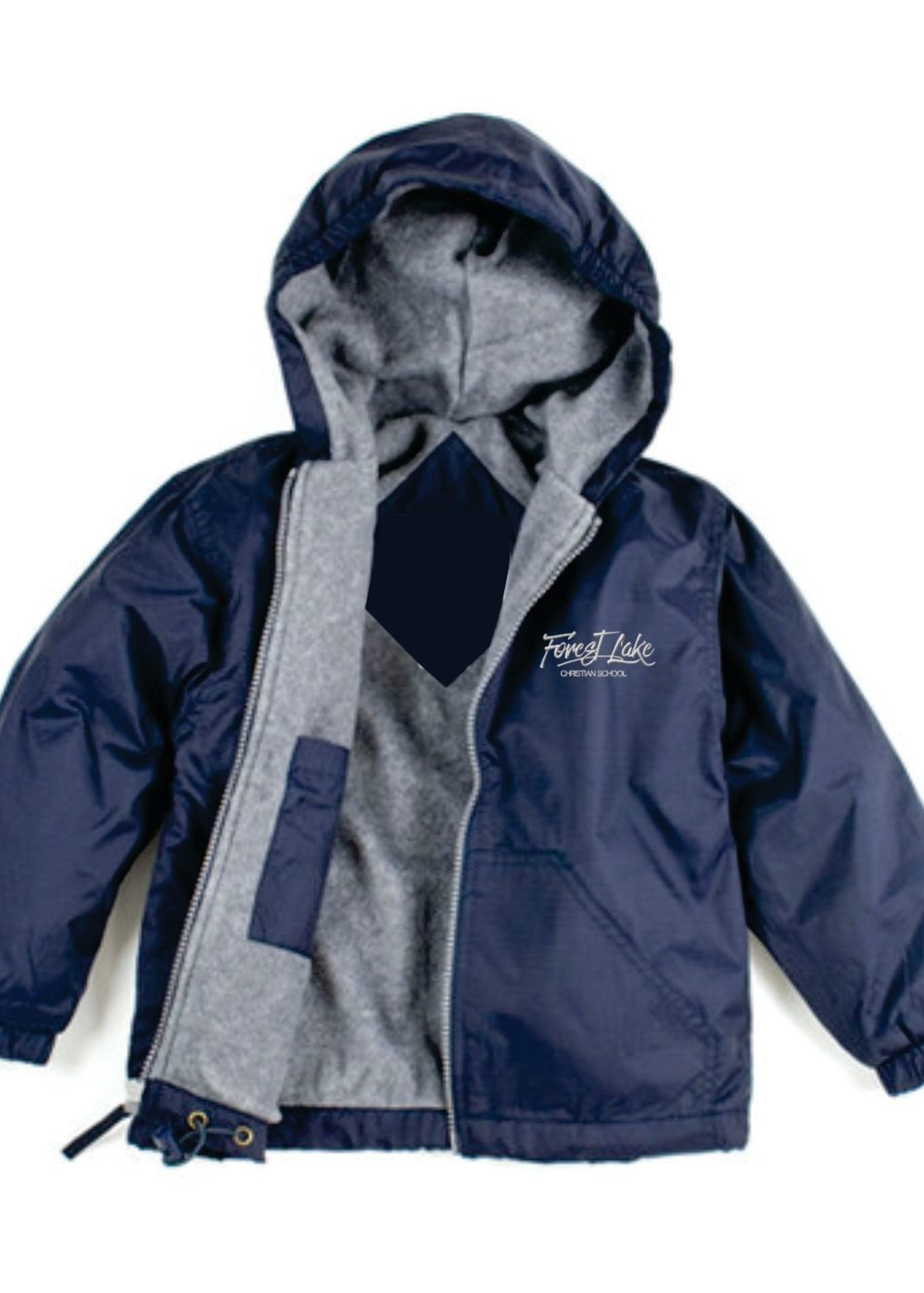 TUS FLCS Navy Windbreaker Hooded Jacket