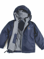 GSCS Navy Windbreaker Hooded Jacket