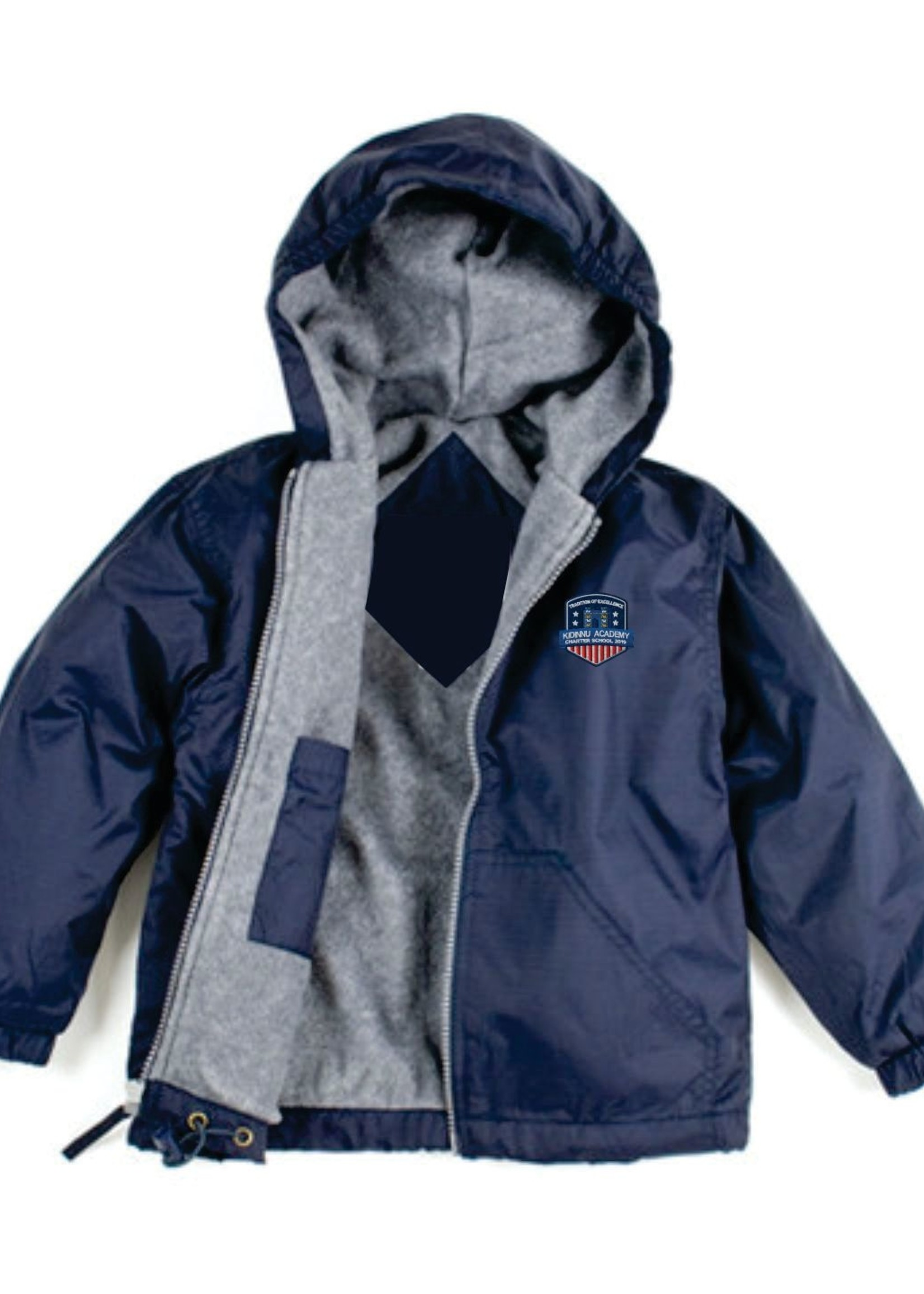 TUS KACS Navy Windbreaker Hooded Jacket