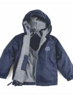 NPA Navy Windbreaker Hooded Jacket