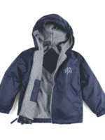 TUS NPA Navy Windbreaker Hooded Jacket