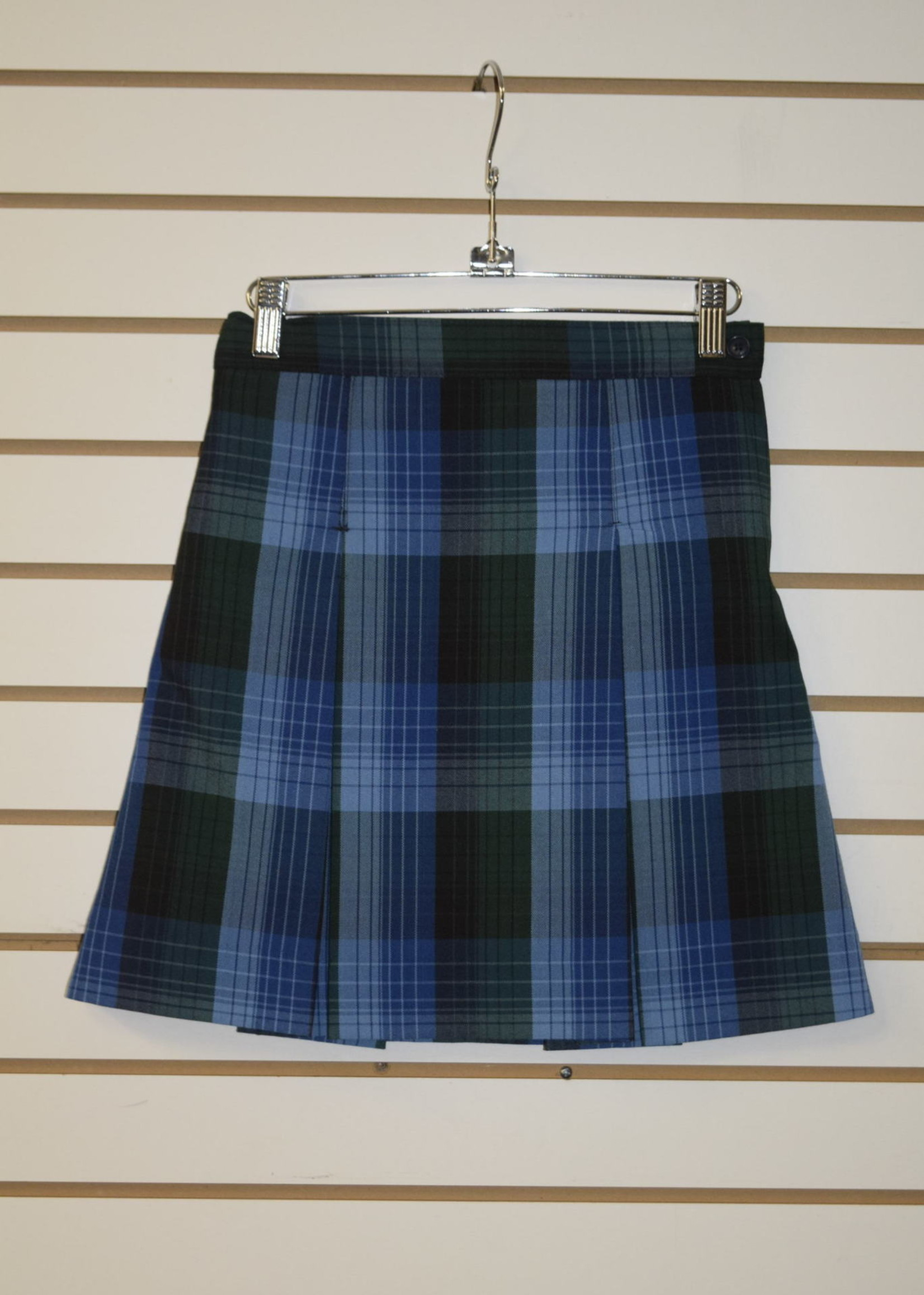 A+ Plaid 4 Pleat Skirt P46