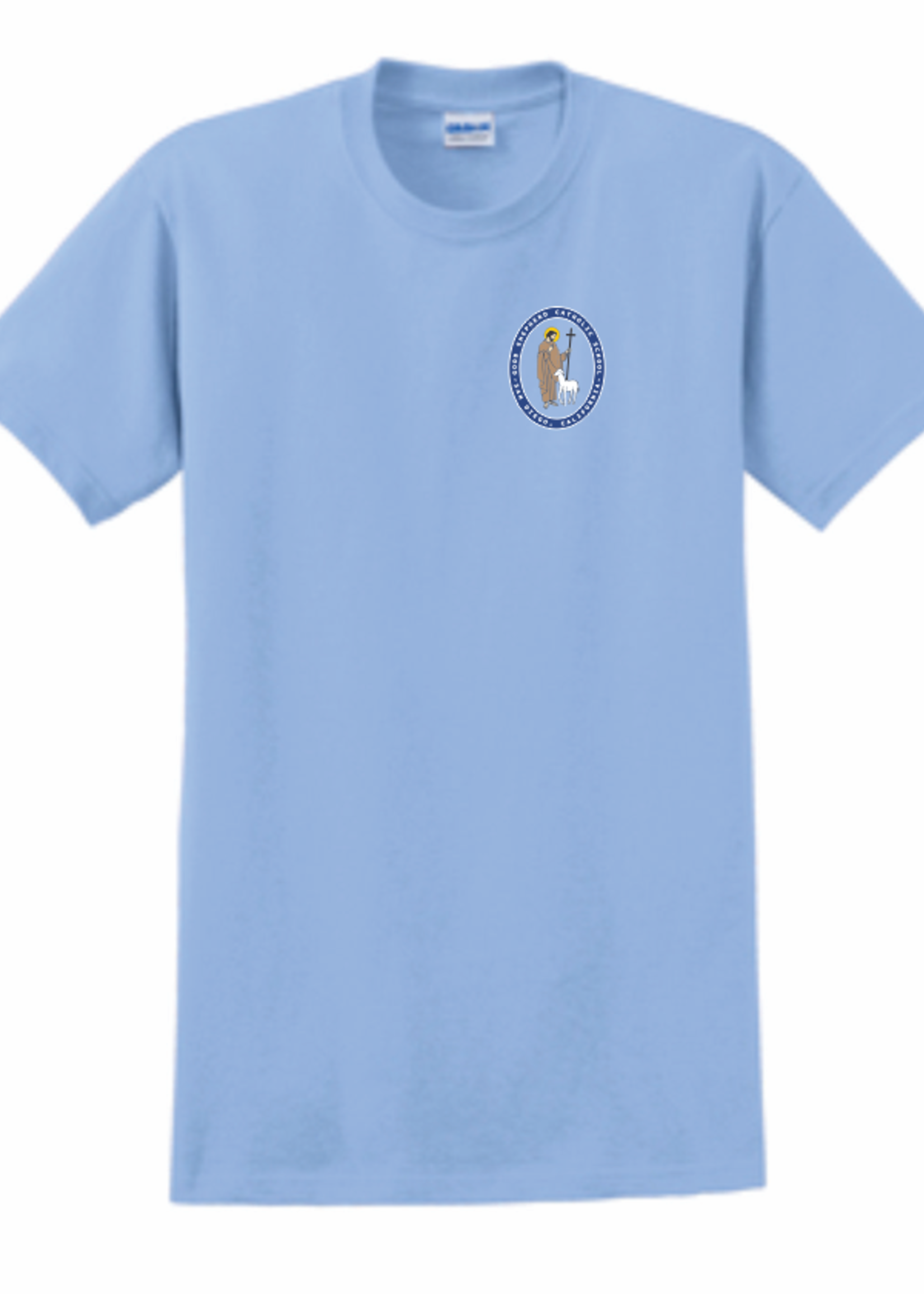 GSCS  Lt. Blue Short Sleeve T-Shirt