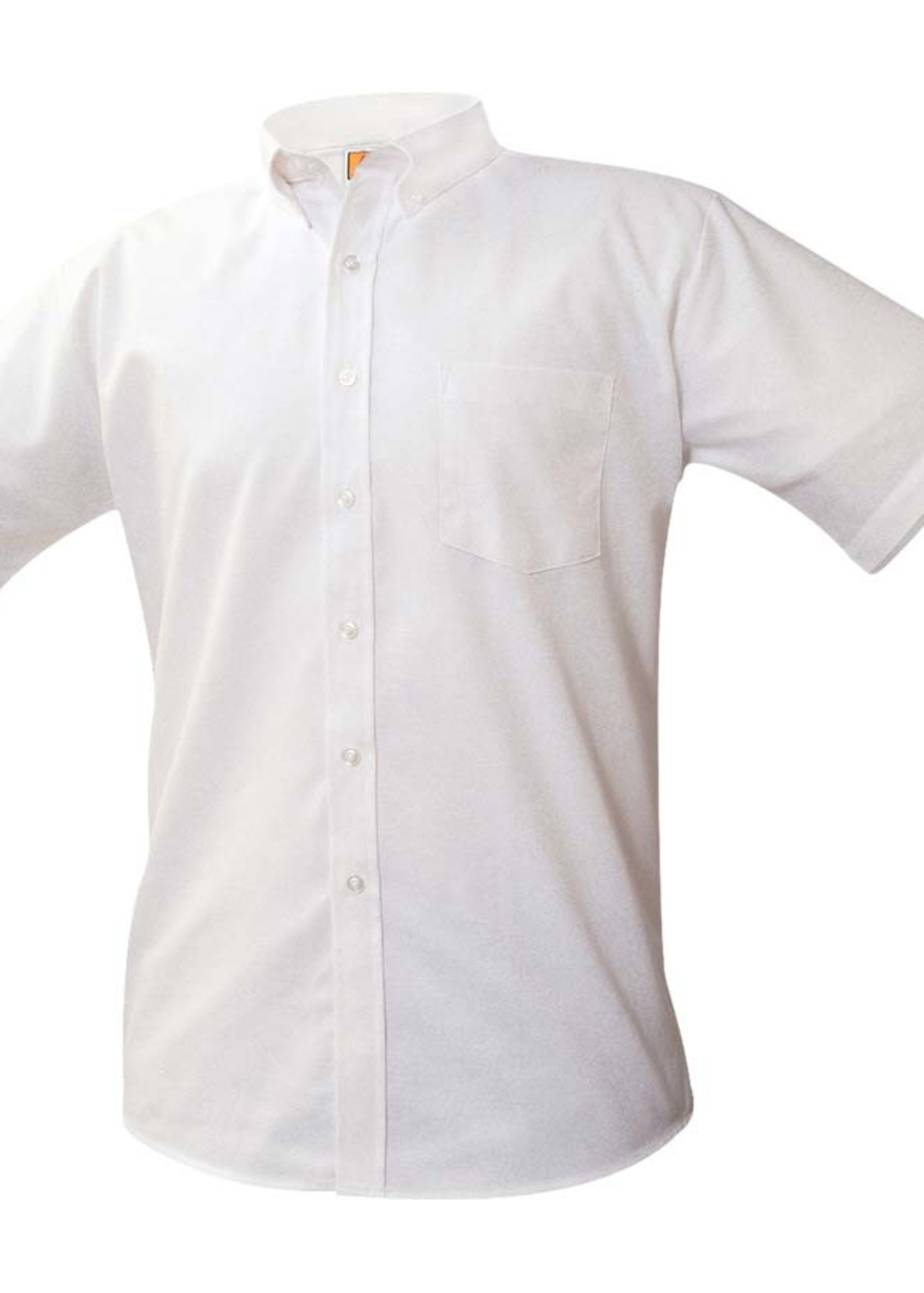 A+ Short Sleeve White Oxford Shirt LO