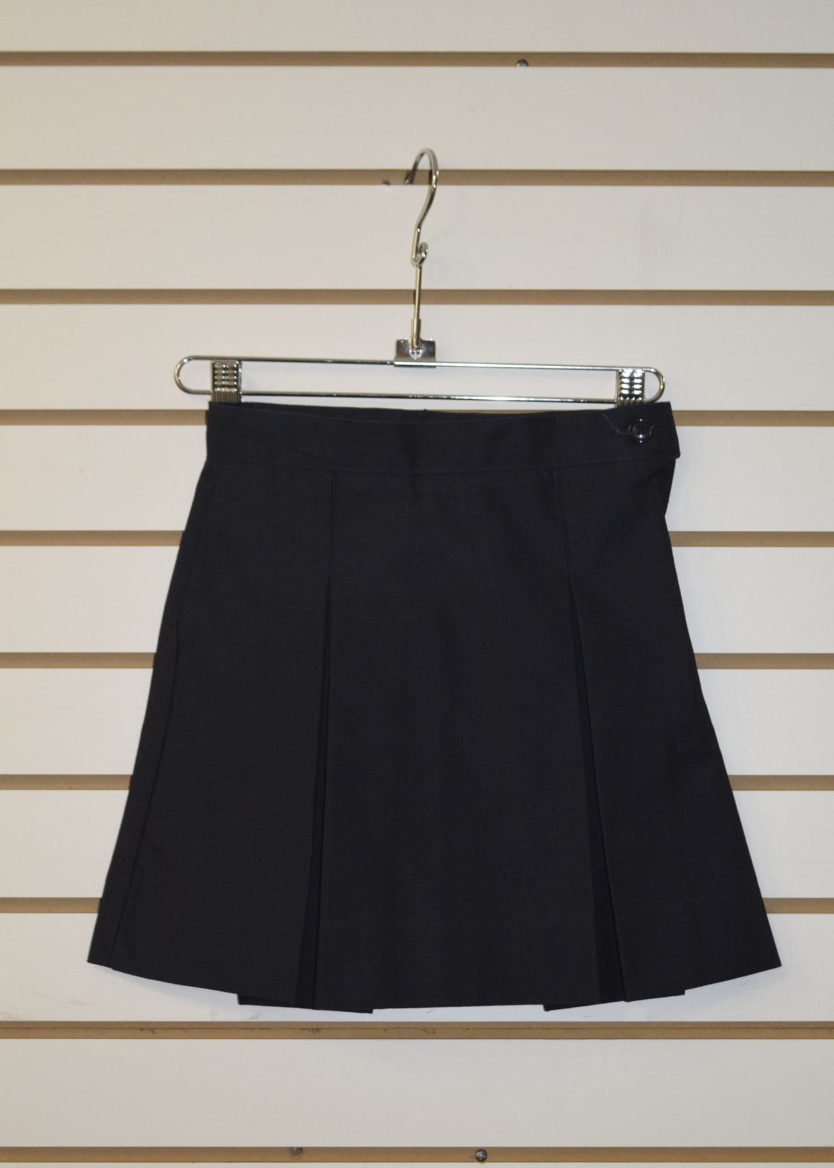 A+ CLS  4 Pleat Black Skirt