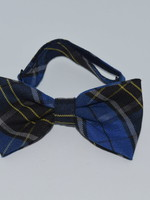 EDT Plaid Bow Tie w/adjustable neck strap P92
