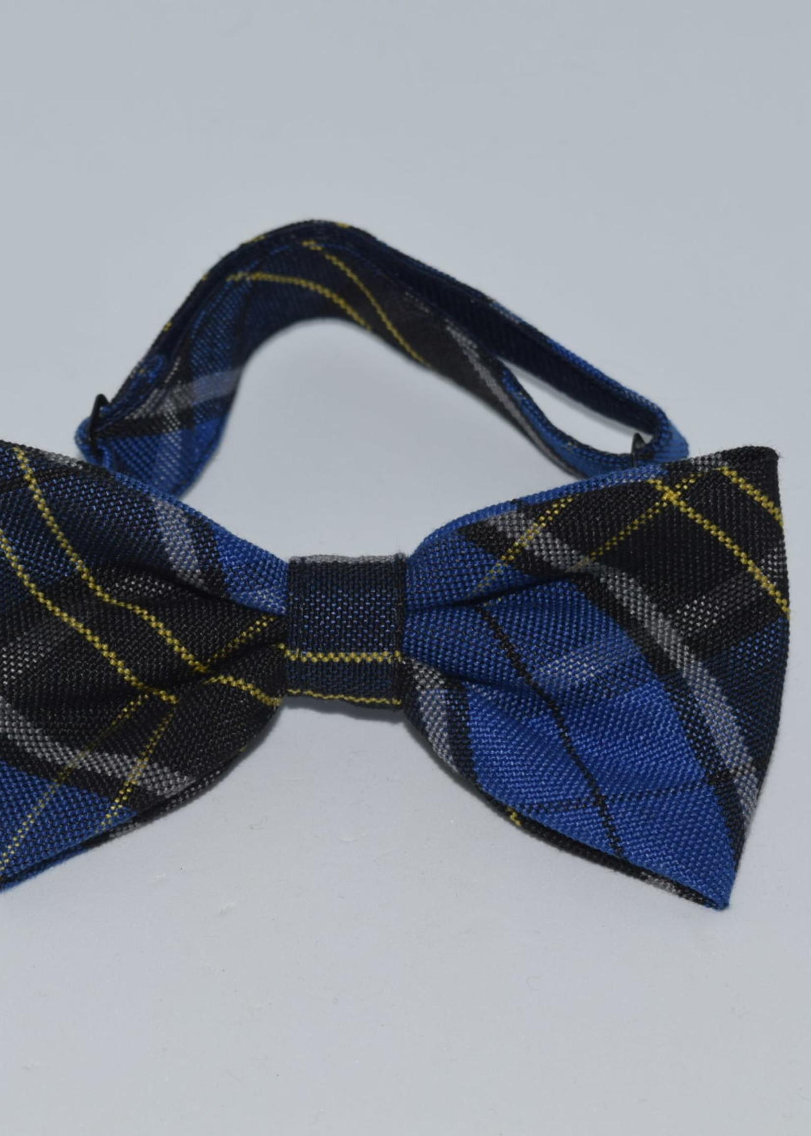 EDT Plaid Bow Tie w/adjustable neck strap P92