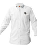 Null OLA White Long Sleeve Oxford Shirt