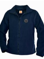 TUS OLA Navy Full Zip Fleece Jacket