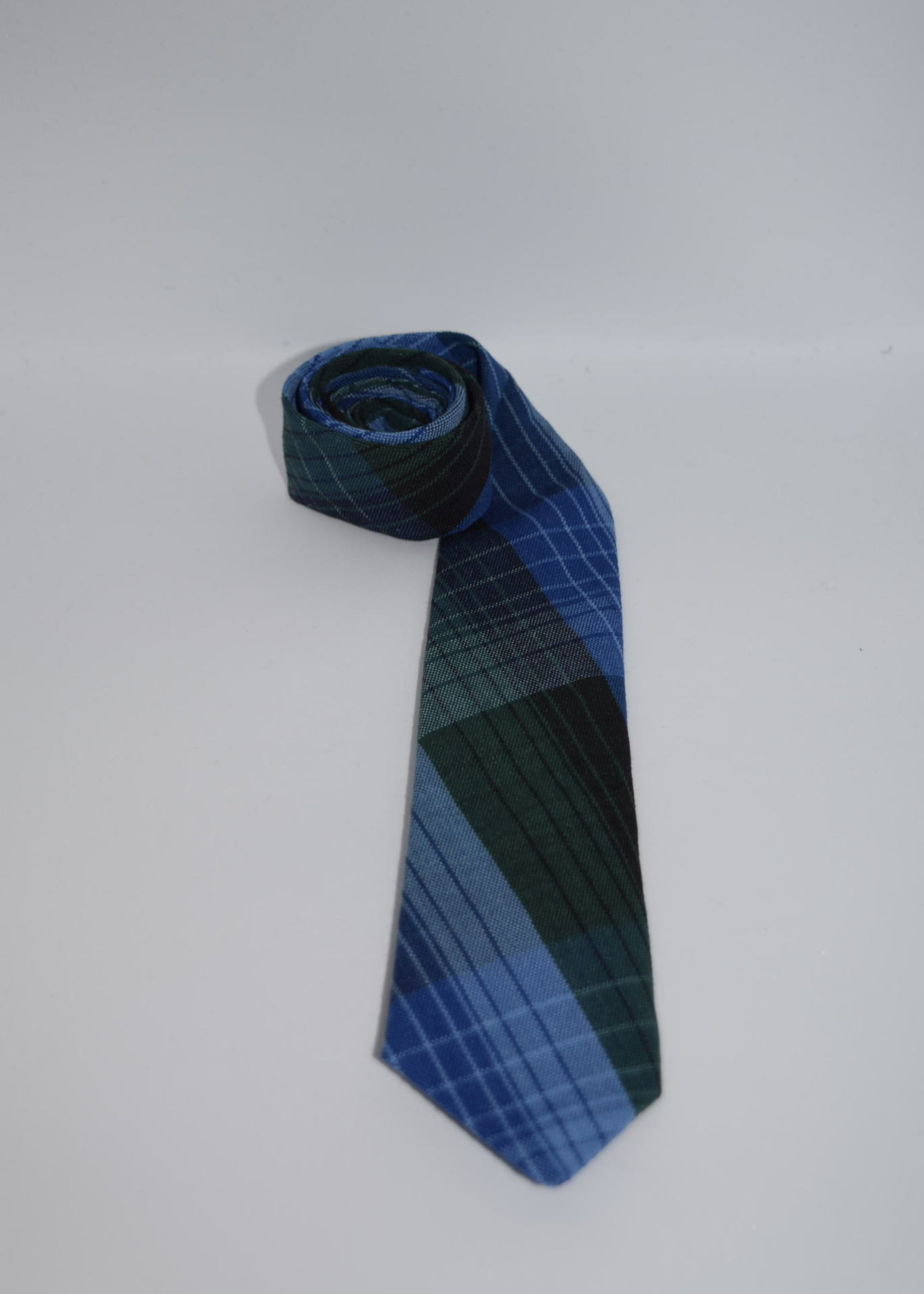 EDT Plaid 4 in hand Neck Tie -  P46