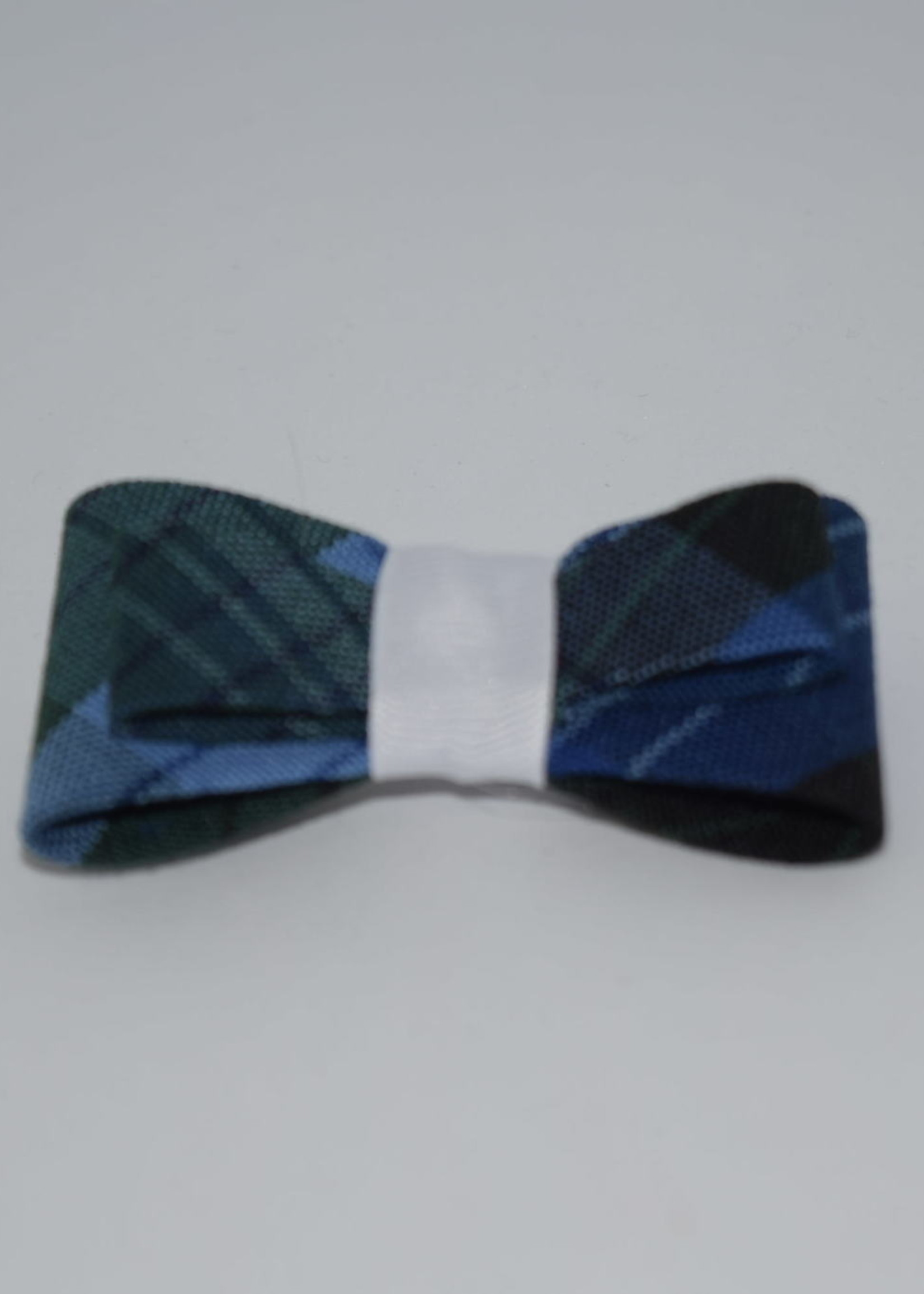 EDT Double Tailored Ponytail Bow P46 WHI