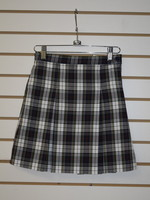 A+ Plaid 4 PleatPlaid Skirt P8B