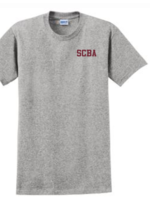 TUS SCBA Sport Grey short sleeve T-Shirt
