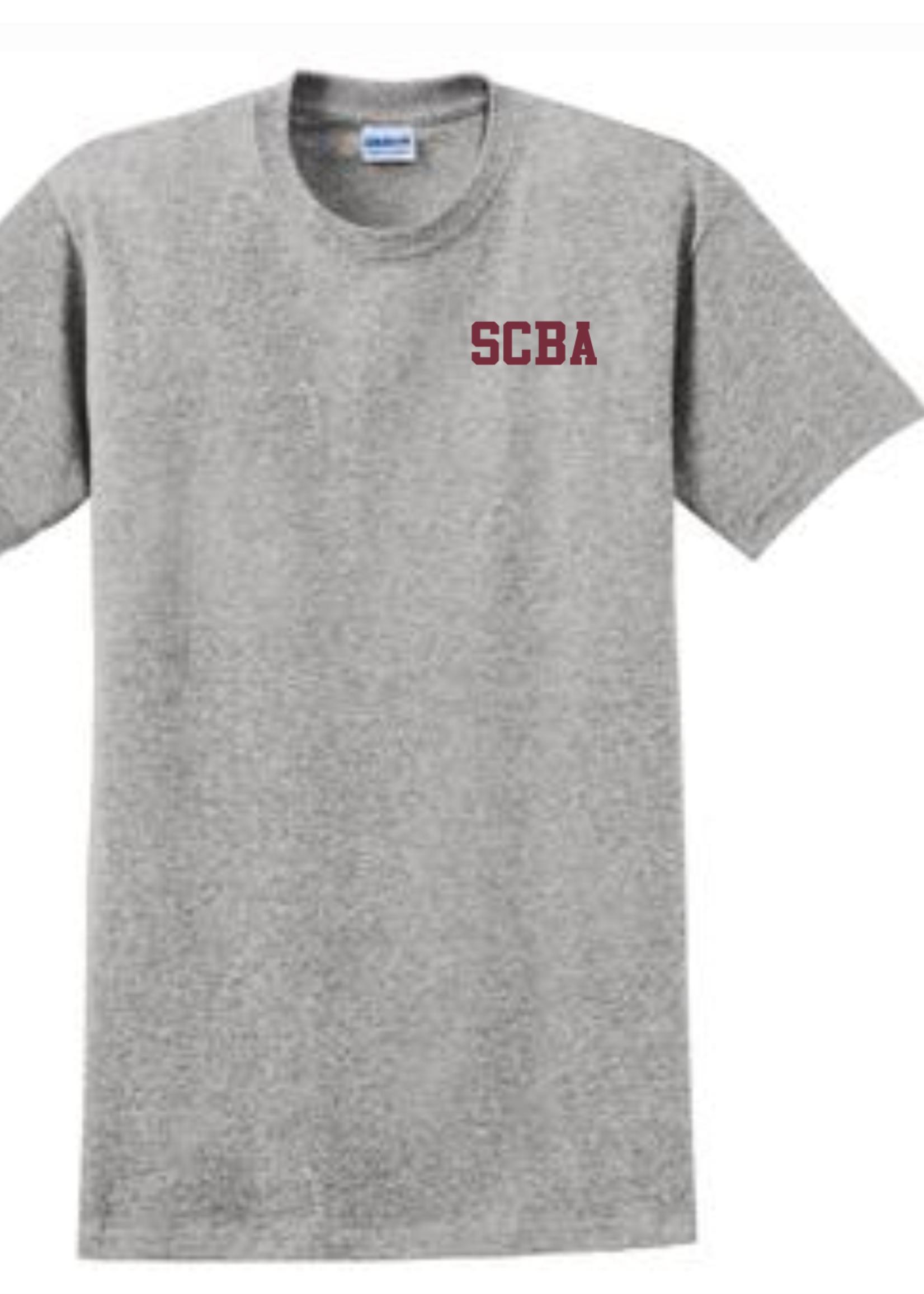 SCBA Sport Grey short sleeve T-Shirt