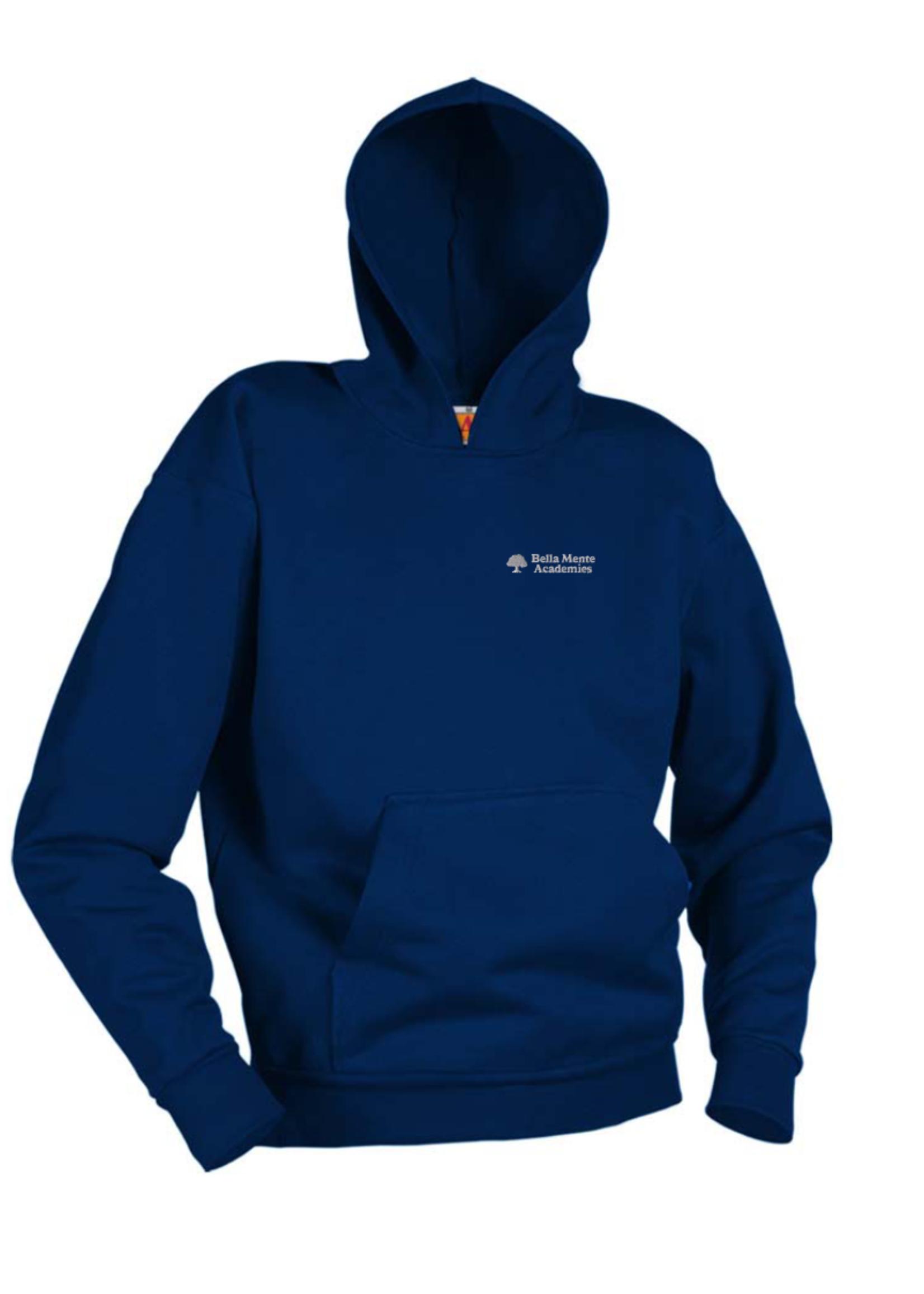 BMA Navy Hooded Pullover Sweatshirt