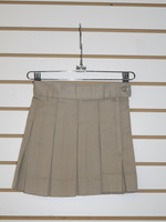 Solid 10 Pleat Skirt (KN)
