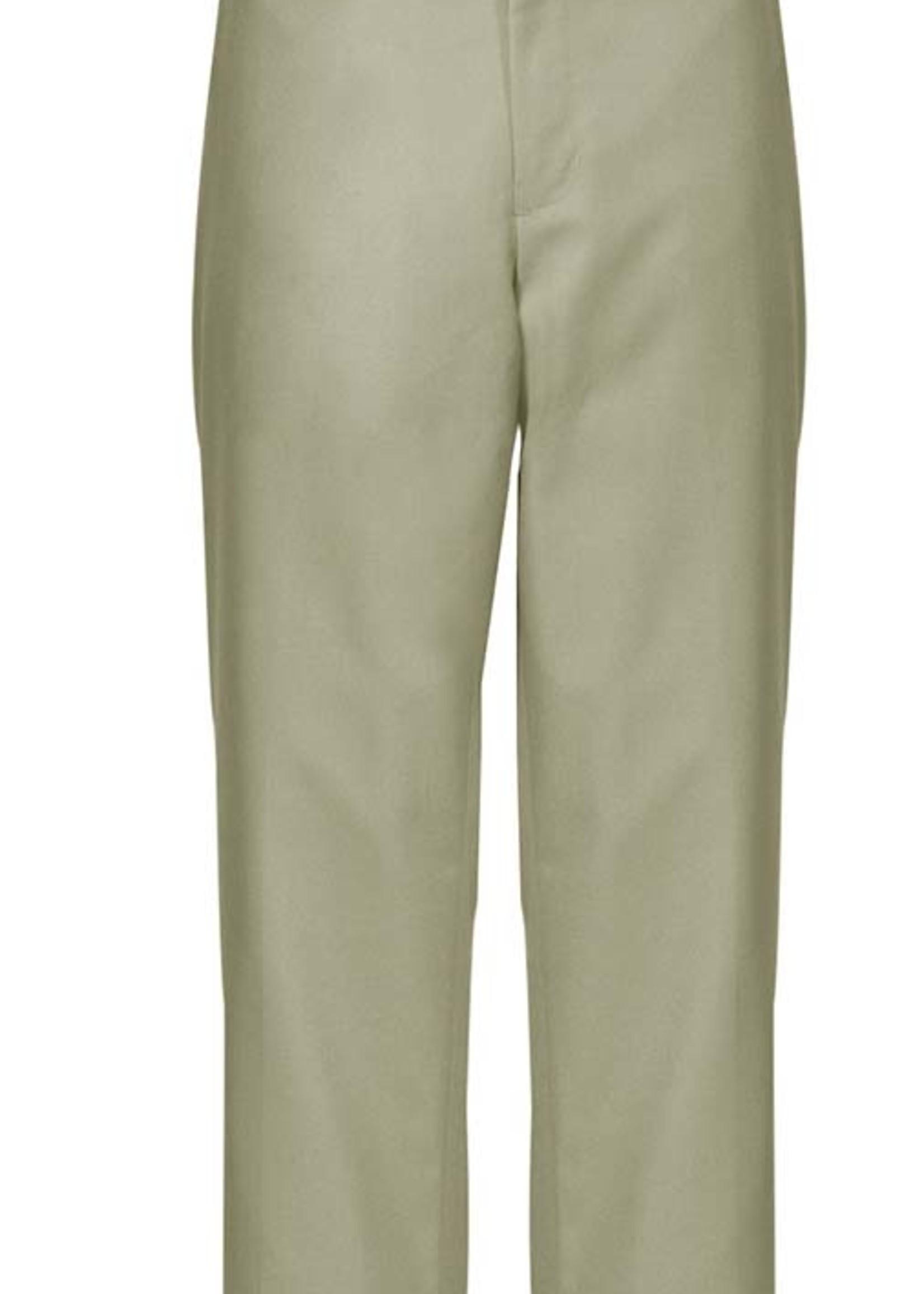 A+ Khaki Flat Front Mens Pants