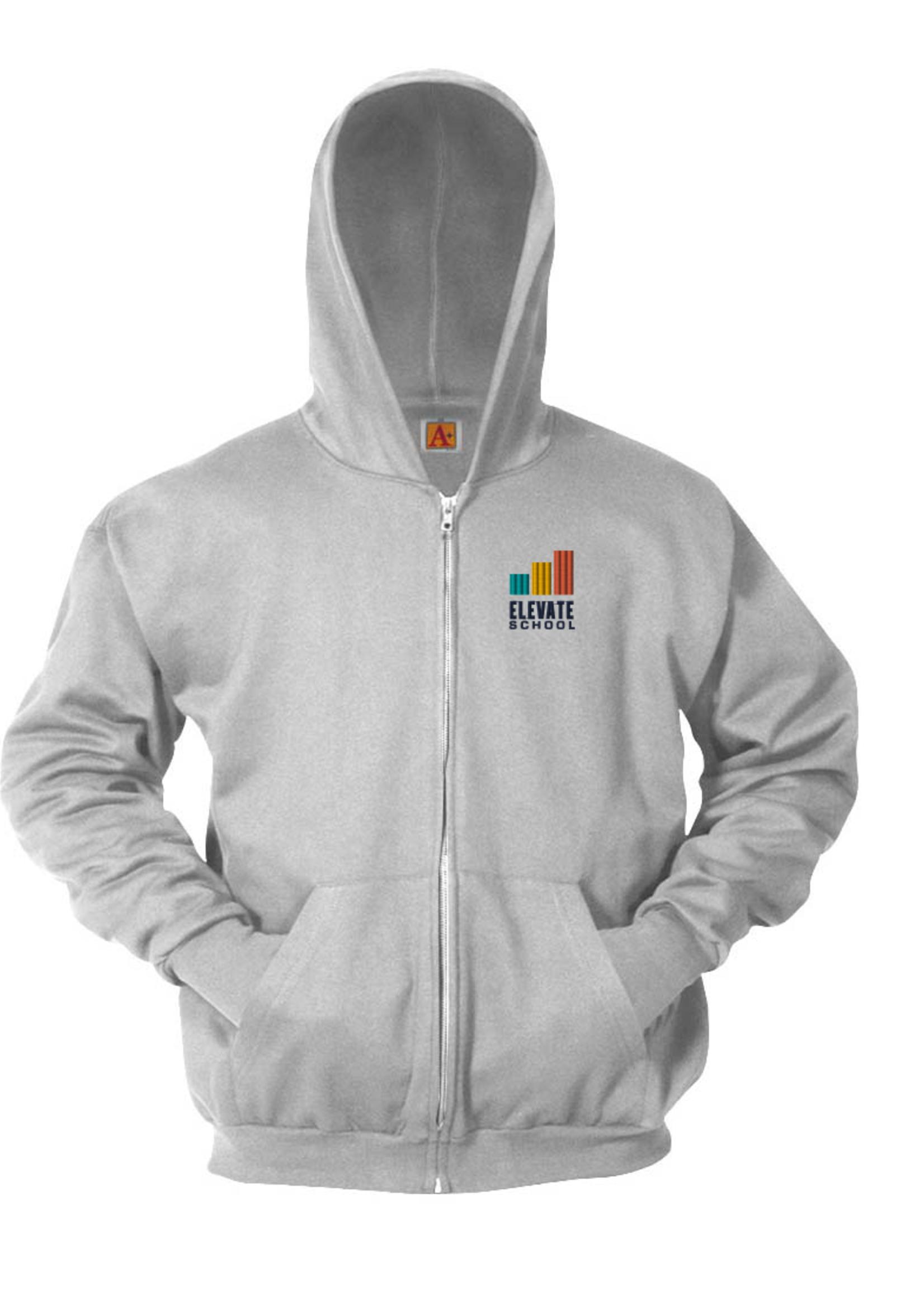 Elevate Hooded Full Zip Sweatshirt