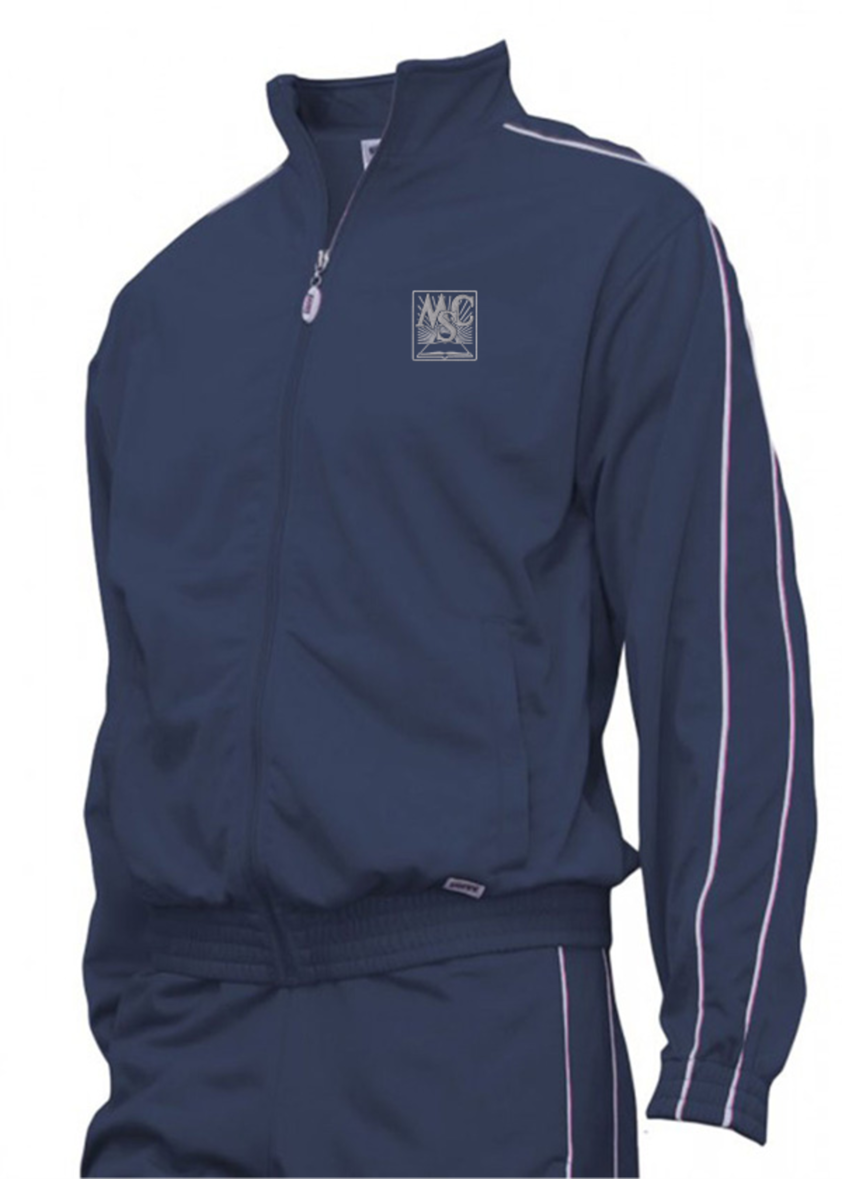OLMCS Navy Tricot Warm Up Jacket