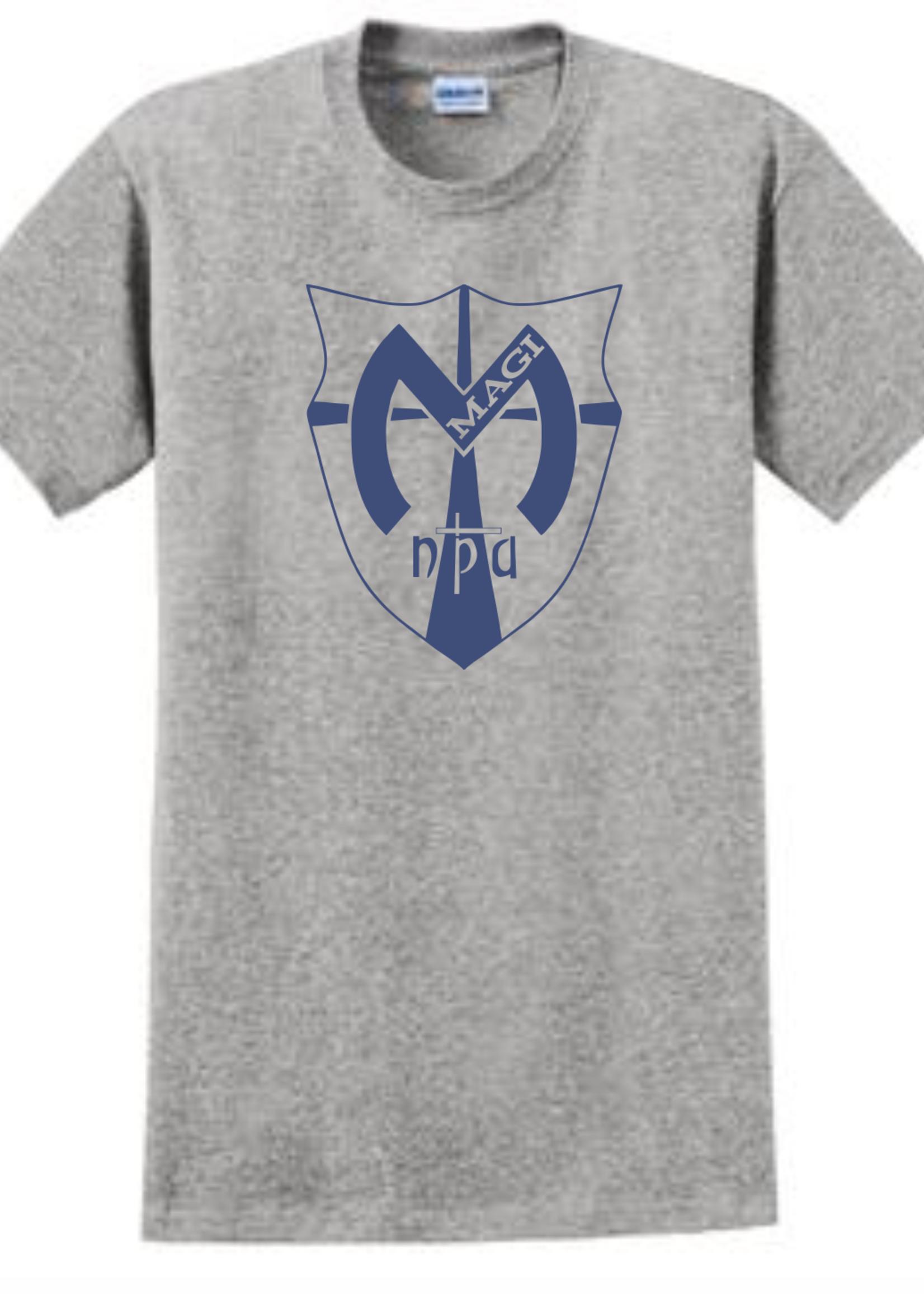 TUS NPA Sport Grey short sleeve T-Shirt