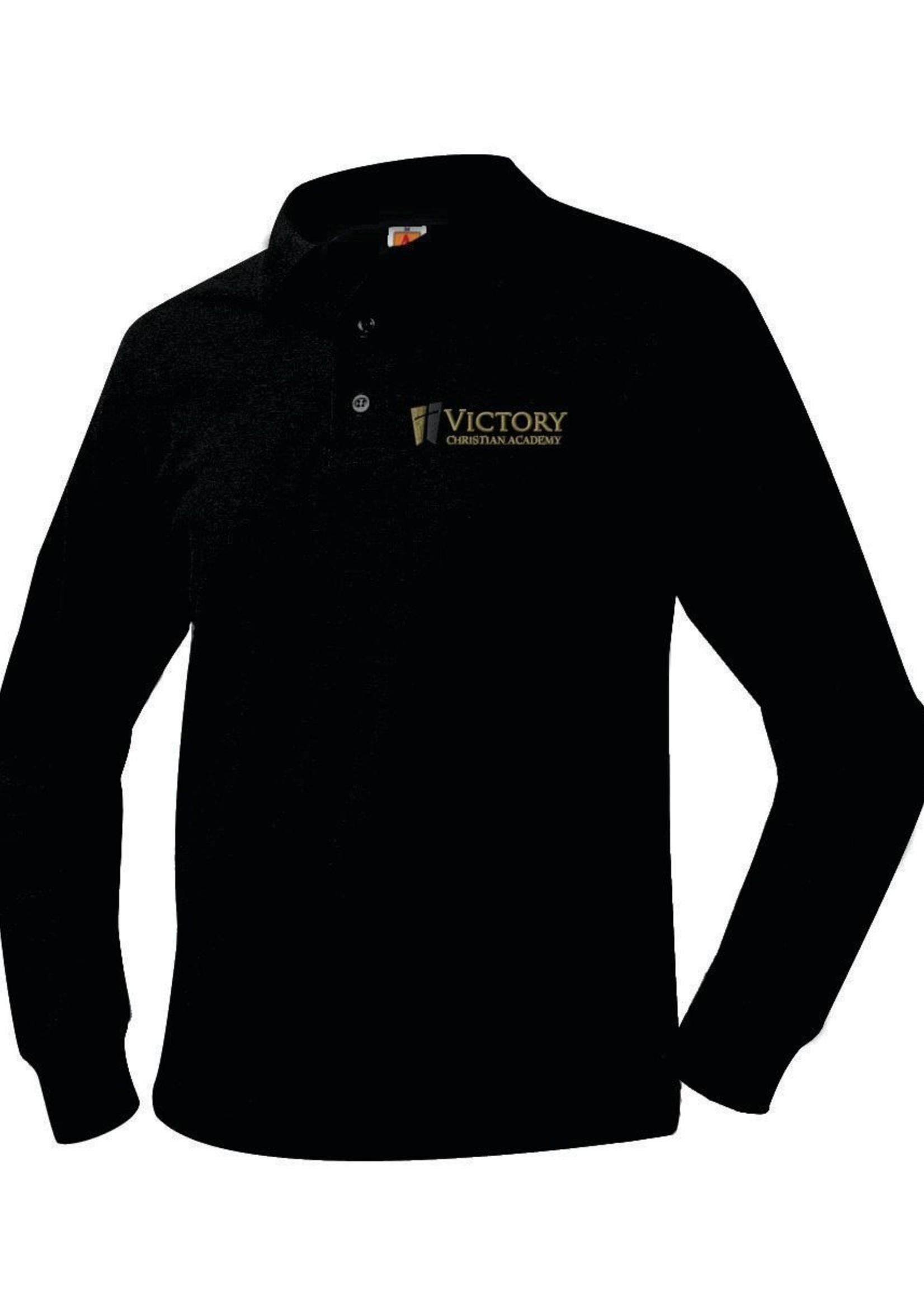 TUS VCA Long Sleeve Pique Polo