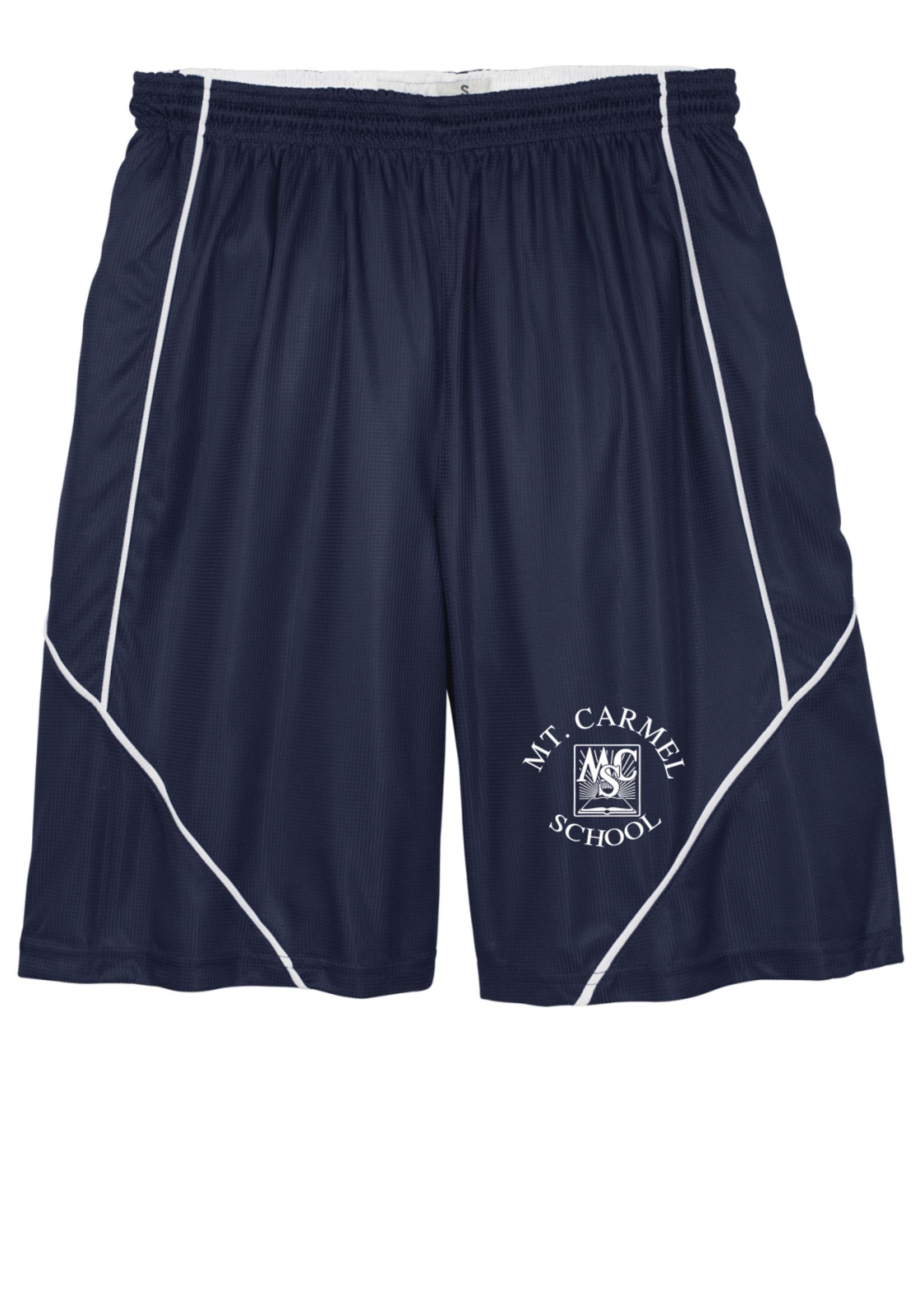 OLMCS Navy Reversable Shorts