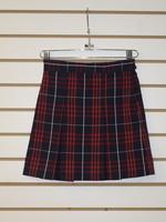A+ Plaid 4 pleat Skirt 4 P36