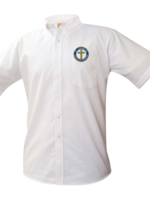 Null SCCS White Short Sleeve Oxford Shirt