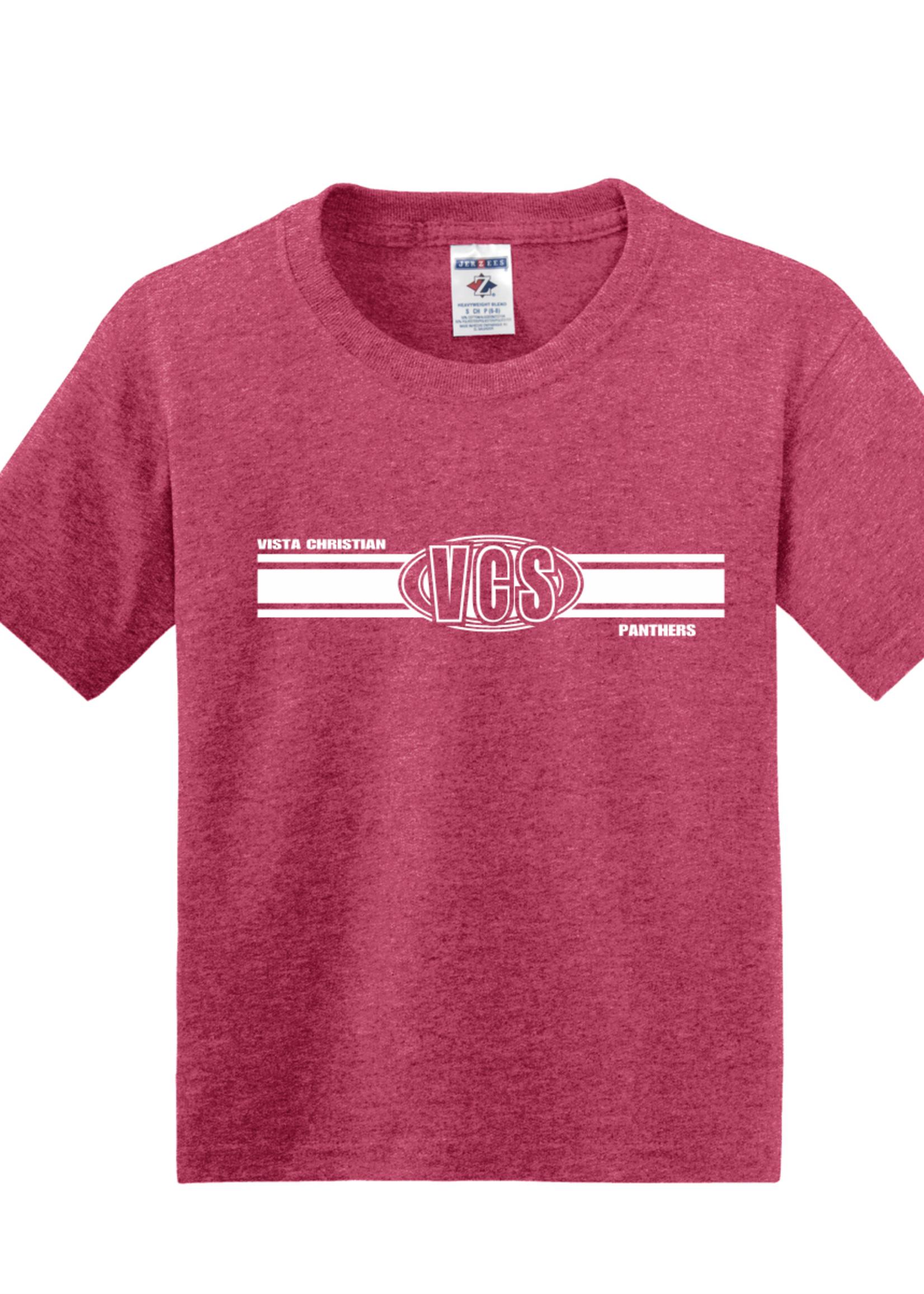 29B VCS Short sleeve T-Shirt  Vintage Red
