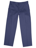 CLS Boys Navy Value Flat Front Pants