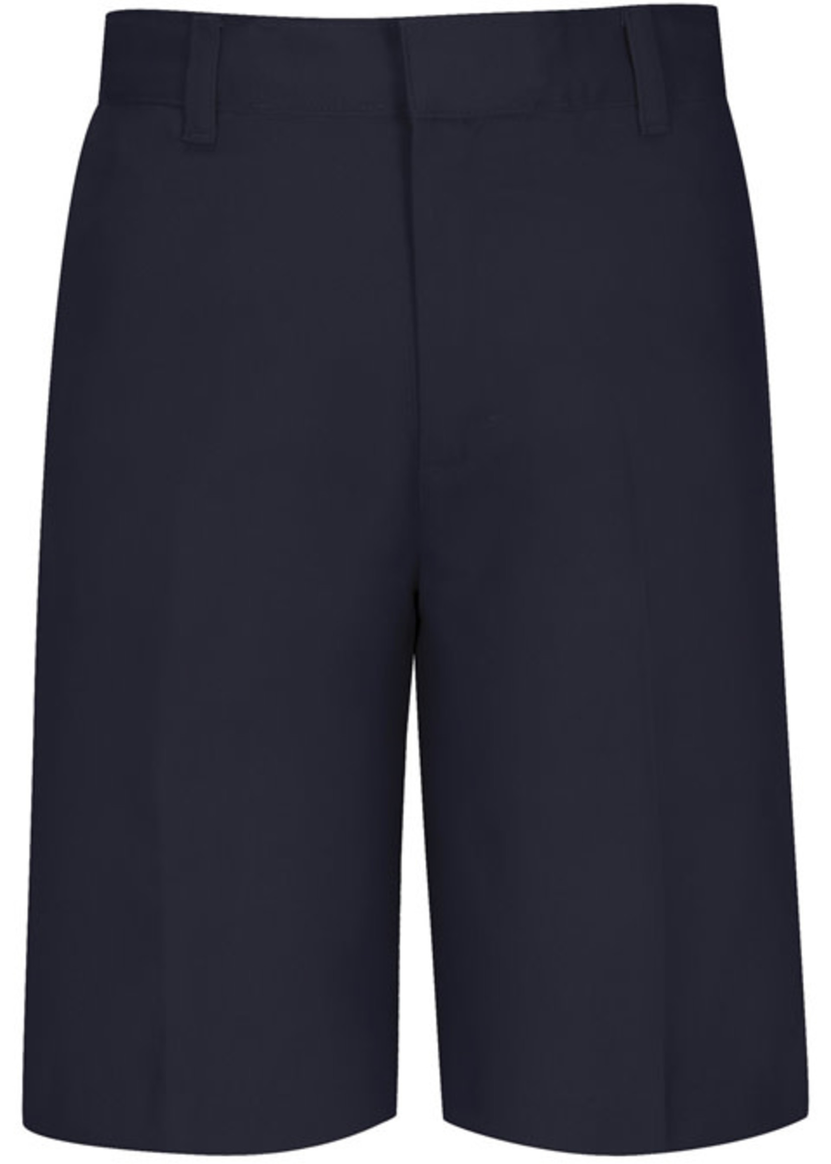 CLS Navy Value Flat Front Boys Shorts