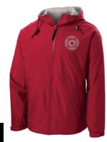 TUS SHS Red Hooded Full Zip Baywatch Jacket