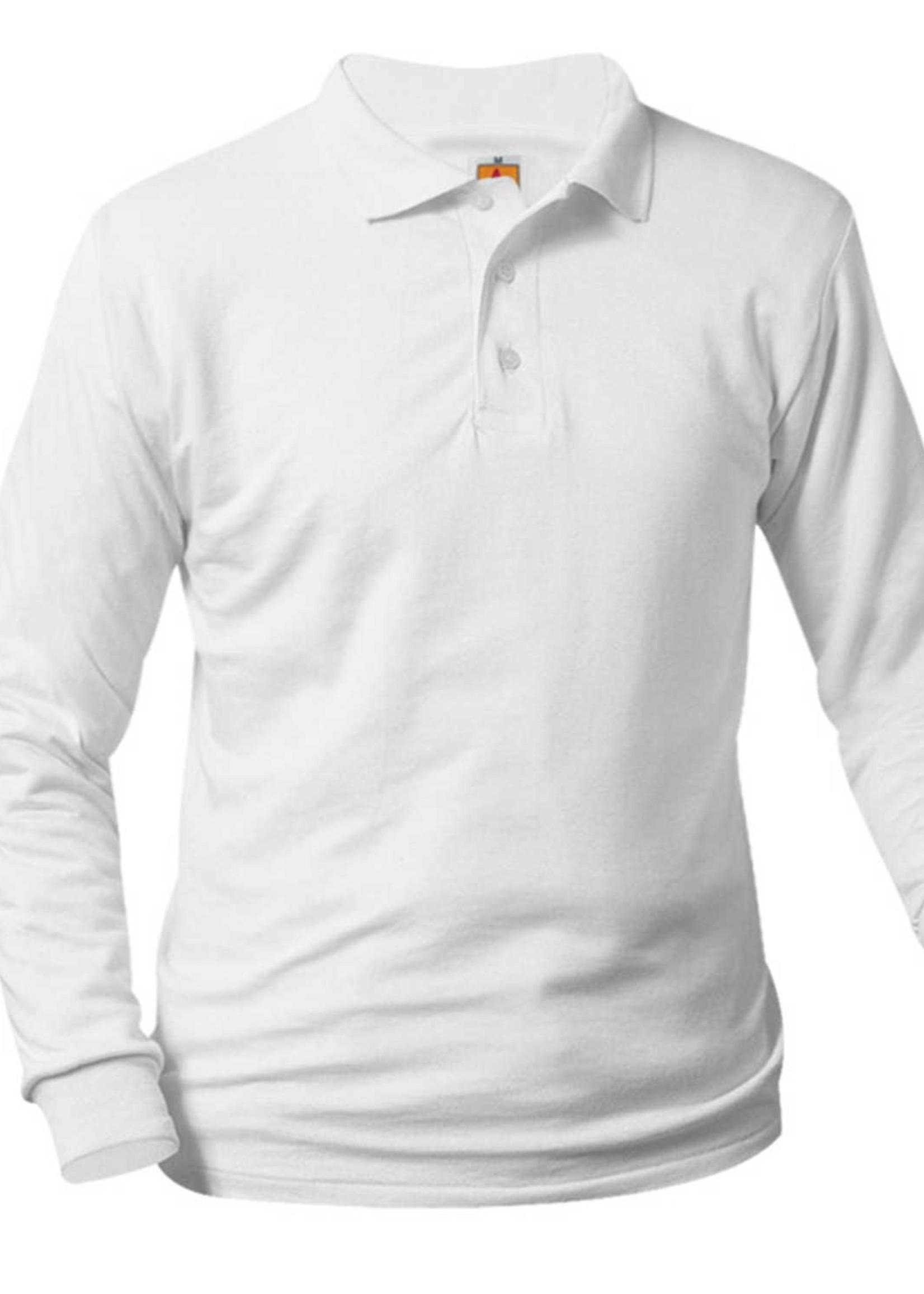 A+ SHS Long Sleeve Jersey Polo