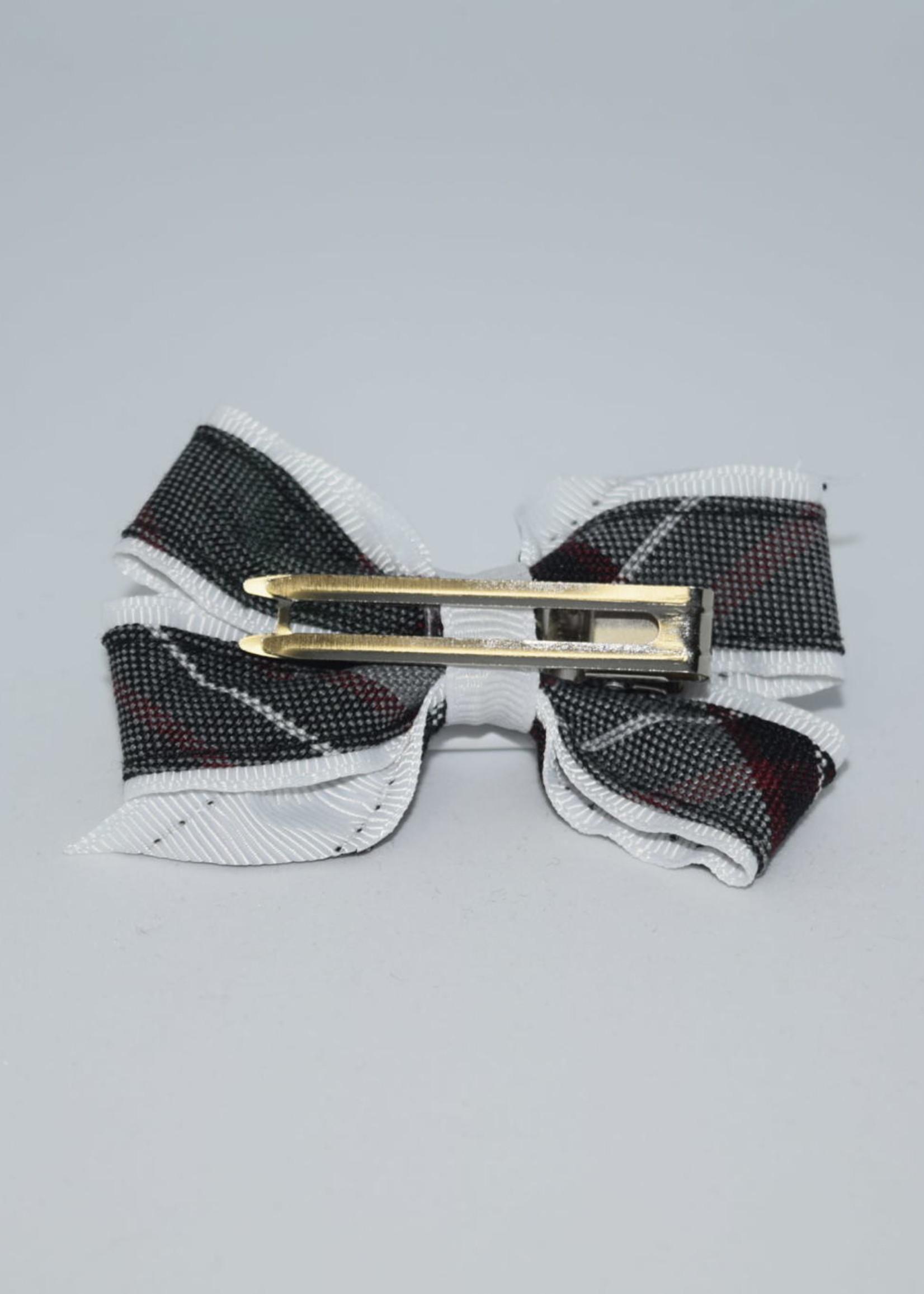 Mini Monarch Bow WHT P26